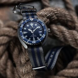 Premium ZULUDIVER Bond Herringbone NATO Watch Strap, Polished Hardware