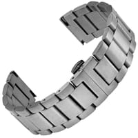Wetherby Butterfly Stainless Steel Watch Strap