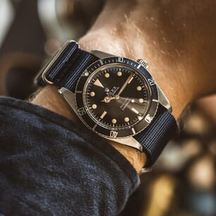 The Vintage Watch Company NATO by Geckota - Black