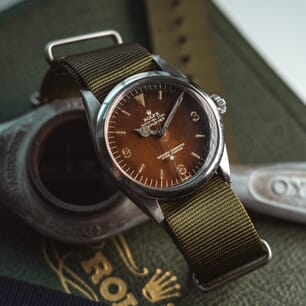 The Vintage Watch Company NATO by Geckota - Olive Green