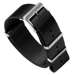 Premium Seat Belt NATO Watch Strap - Black