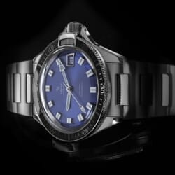 Yema Superman Heritage Automatic - Blue Sunburst - 41mm