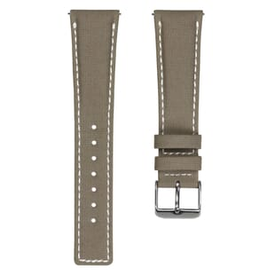 ZULUDIVER Westbay Upcycled SEAQUAL® Fabric Watch Strap - Desert Sand