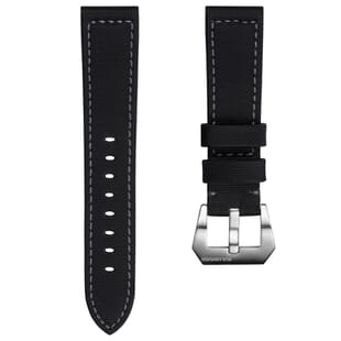 The Helford Sailcloth Waterproof Watch Strap for SEIKO
