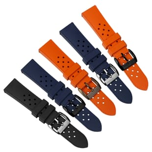 ZULUDIVER Modern Tropical Style Rubber Watch Strap (MkII)