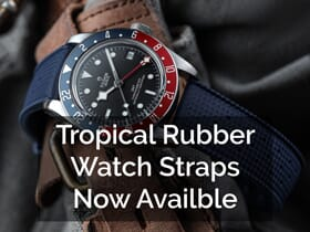 Tropical Style Watch Strap